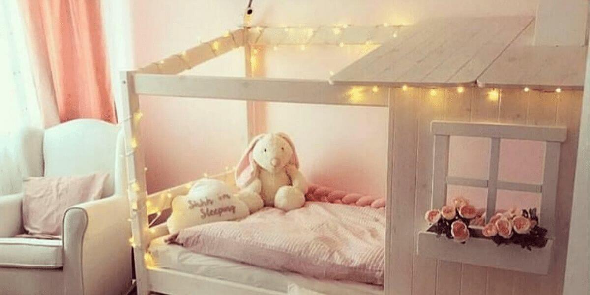 chambre enfant lit cabane en bois Flexa