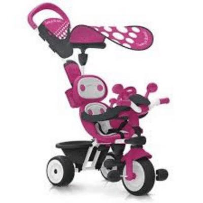 Tricycle-évolutif-bébé-Driver-Confort-Smoby