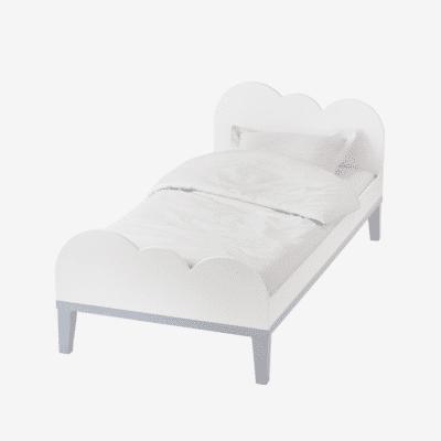 lit blanc évolutif nuage pour enfant marque vertbaudet