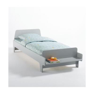 lit banc pour enfant gris marque La Redoute Intérieurs