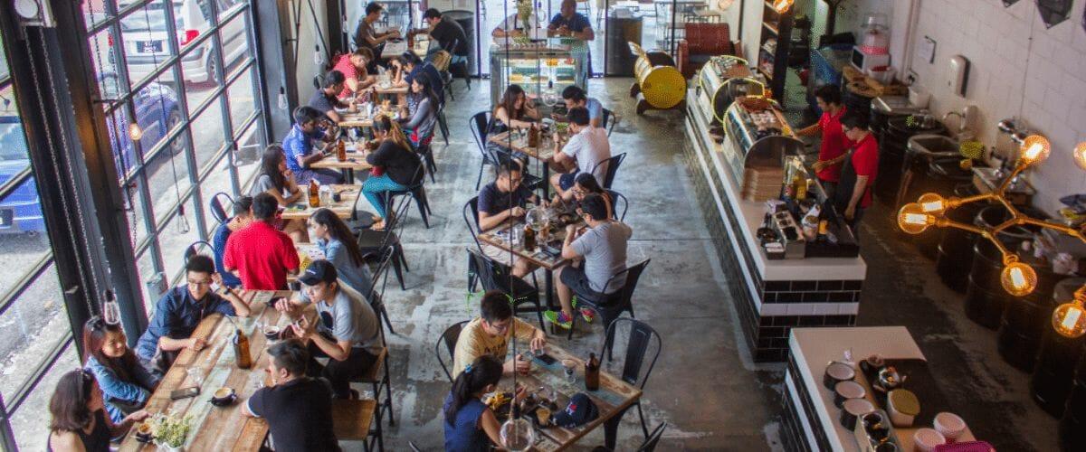 Évitez les restaurants pendant les heures de pointe