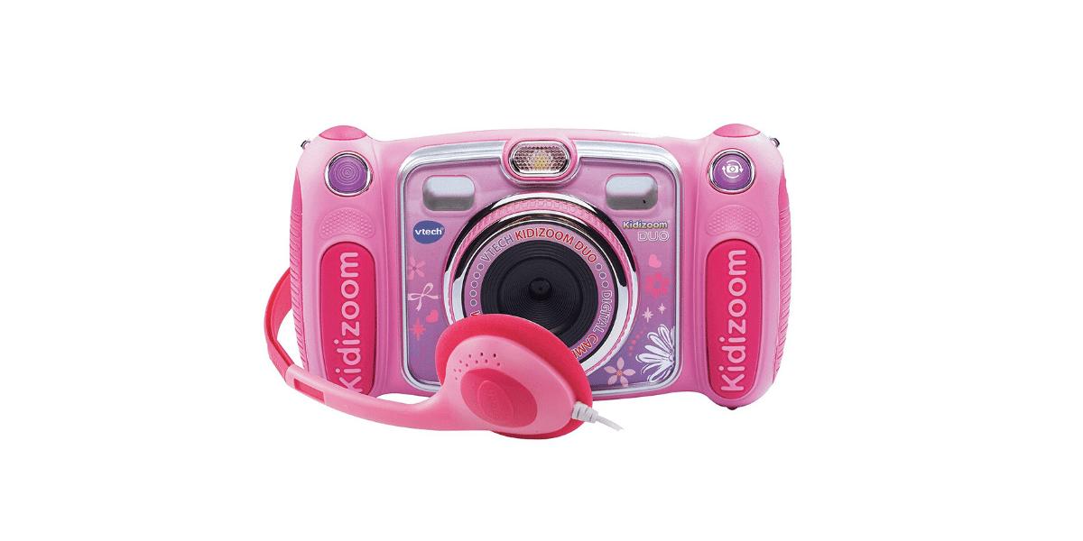 Appareil-photo-numérique-pour-enfant-Kidizoom-Duo-rose-marque-Vtech
