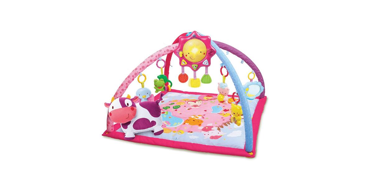 Tapis-éveil-rose-pour-bébé-interactif-Vtech-Lumi-Les-ptits-copains
