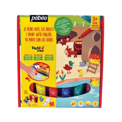 mini-coffret-peinture-doigts-tactilcolor-animaux-ferme-pebeo