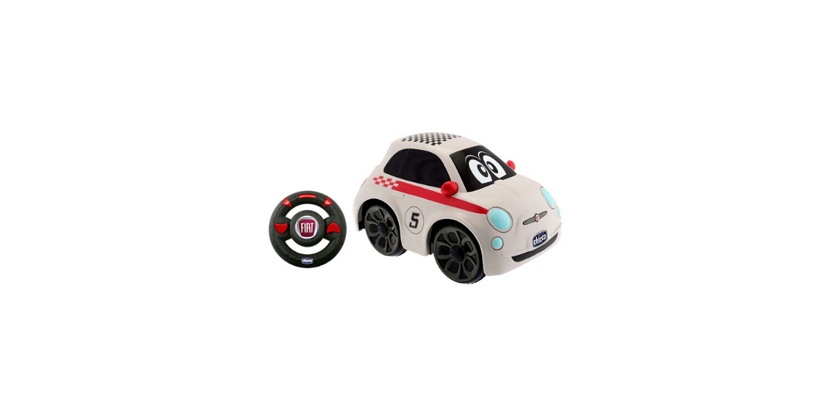 Voiture-télécommandée-Fiat-500-marque-Chicco