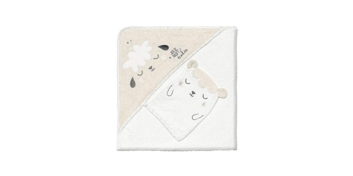 Cape-bain-bébé-mixte-Nuit-Etoilée