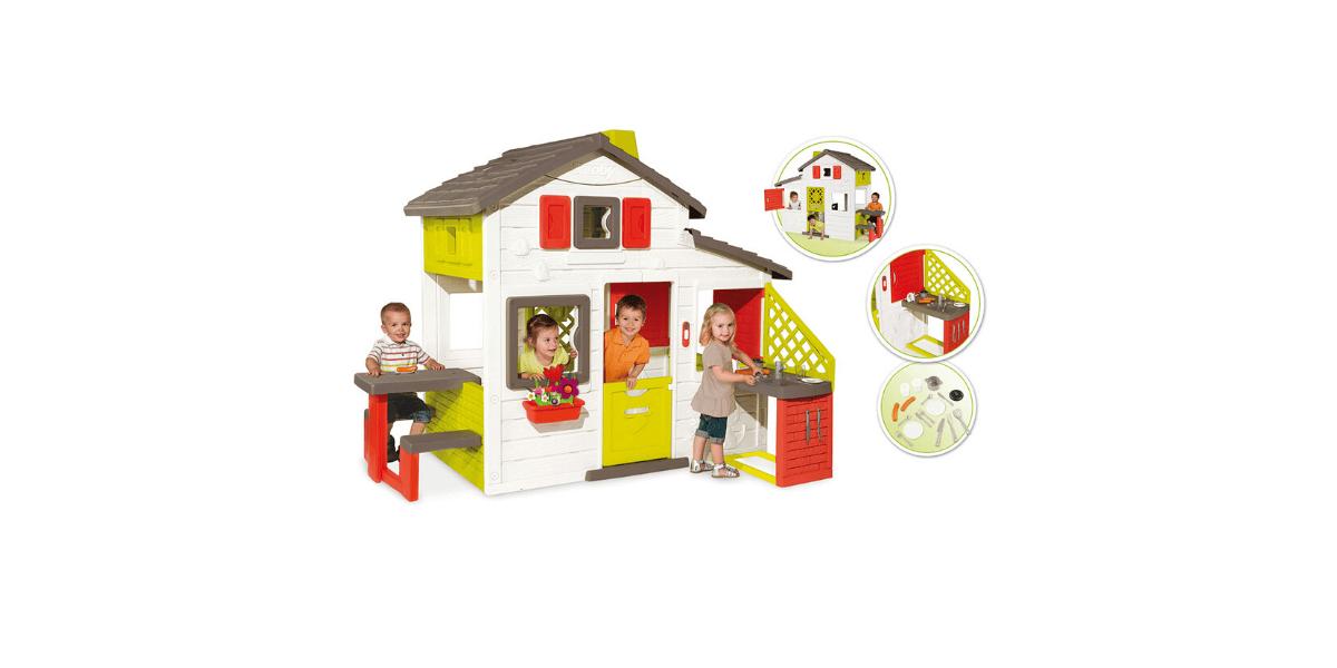 cabane en plastique Smoby Friends House