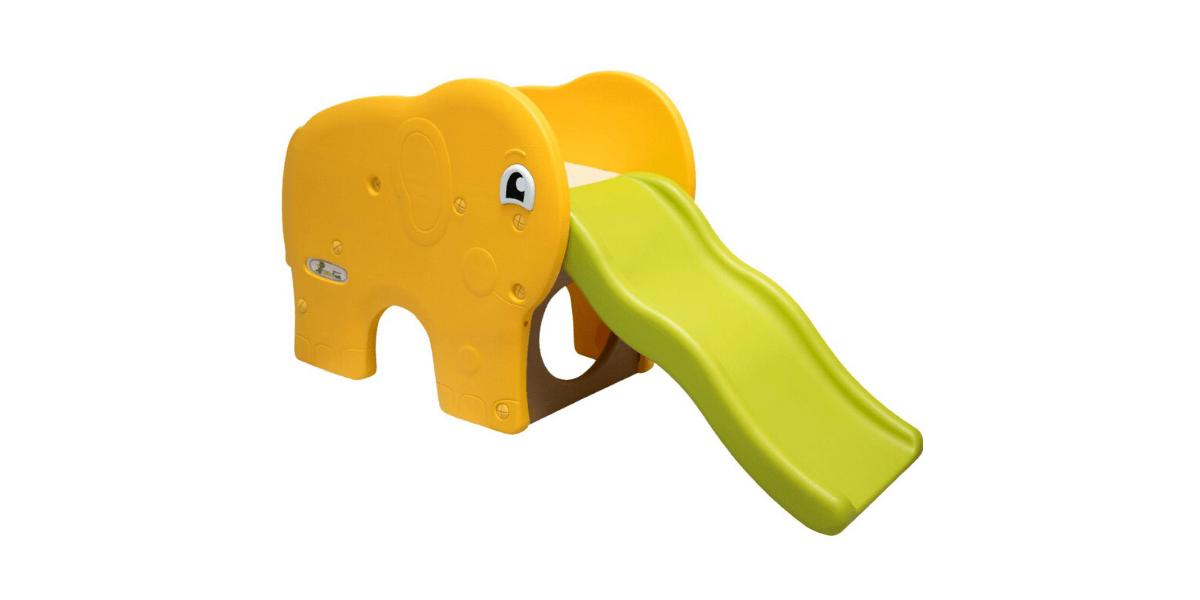 Toboggan-pour-enfants-éléphant-LittleTom