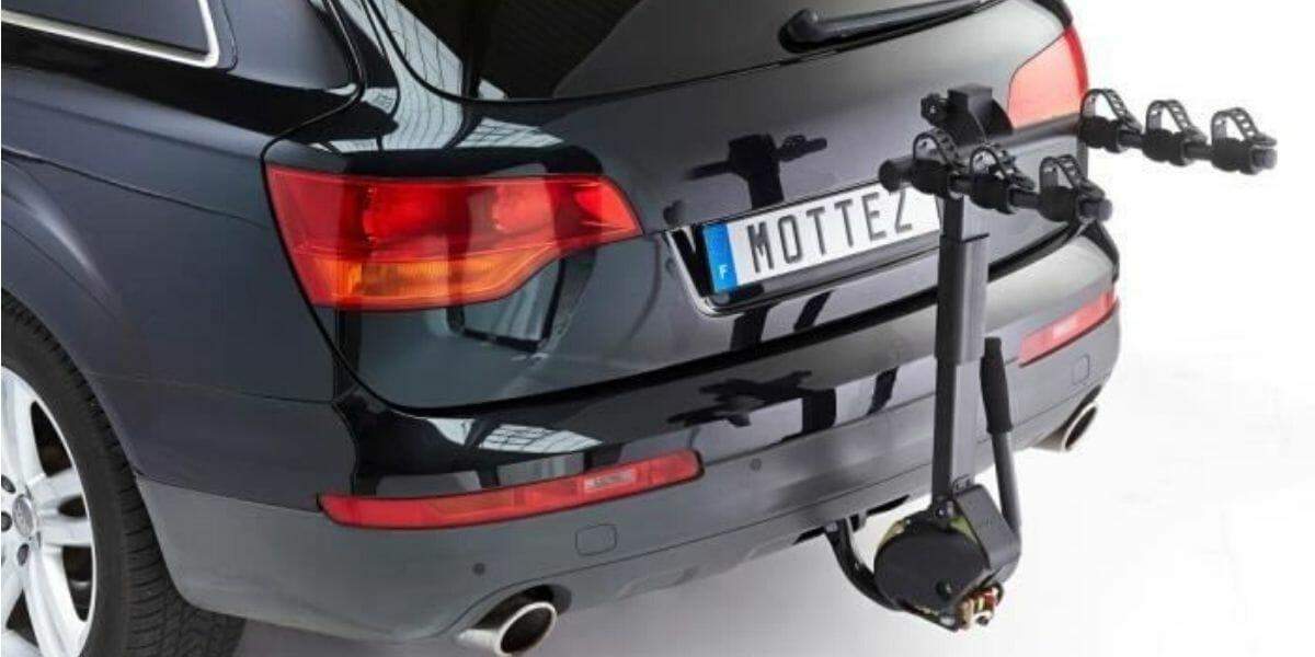 porte vélos attelage rabattable marque Mottez