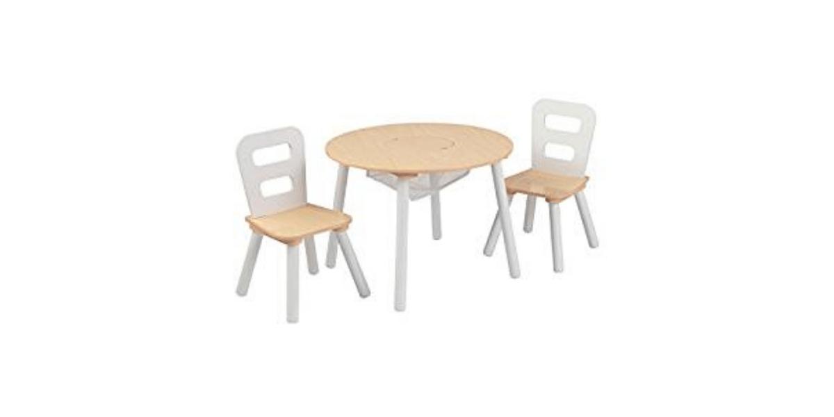 table et chaises enfant en bois marque Kidkraft