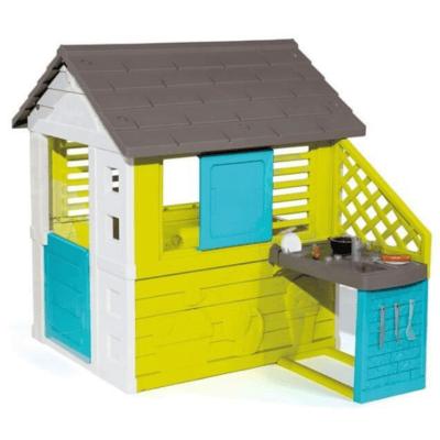 maison en plastique avec cuisine marque Smoby Pretty