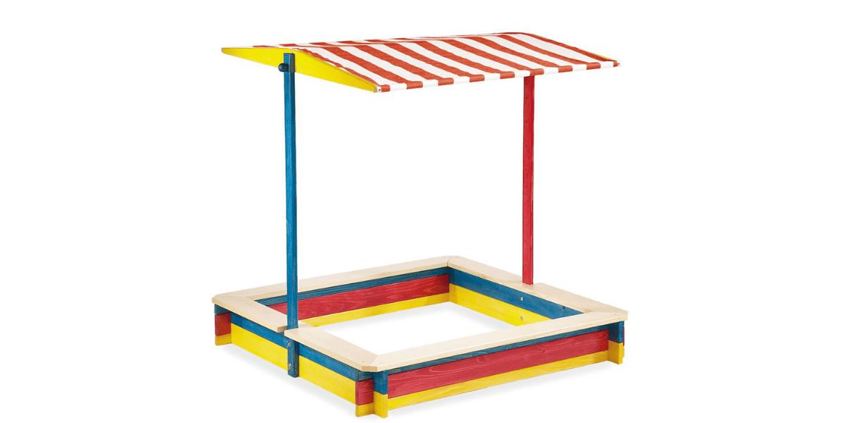 Bac-sable-avec toit Pinolino