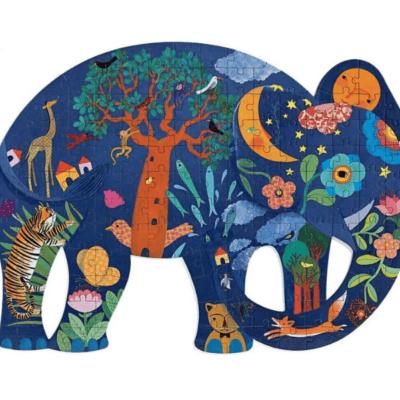 puzzle enfant éléphant Puzz'art marque Djeco