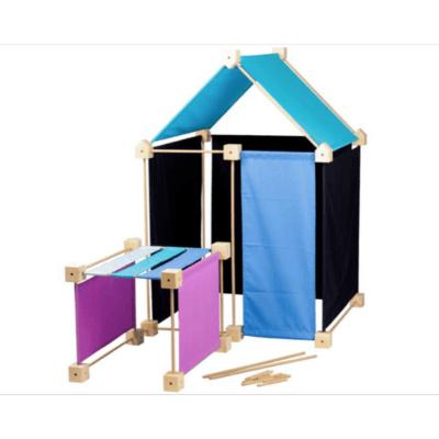 cabane-à-construire-Trigonos-Family