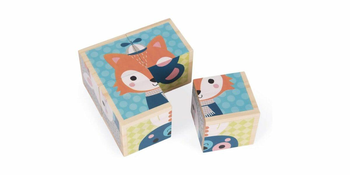 Puzzle-enfant-Mes-Premiers-Cubes-Portraits-Forêt-marque-Janod