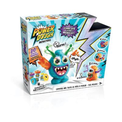 Pâte-modeler-Crazy-Monster-Power-Dough