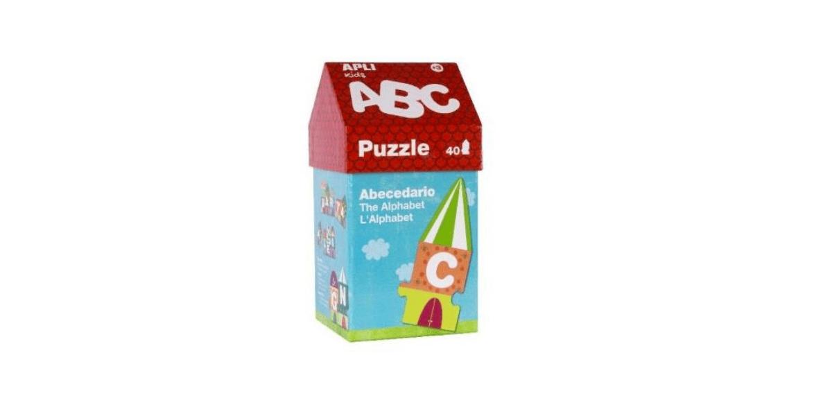 Puzzle-40-pieces-Maisonnette-ABC-marque-Apli-Kids