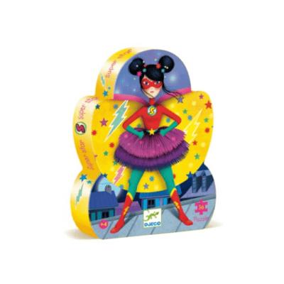 Puzzle-enfant-super-héros-fille-Djeco