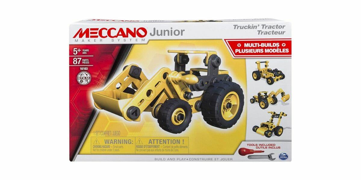 boite tracteur Meccano Junior