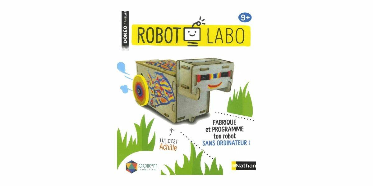 robot labo à construire marque Nathan
