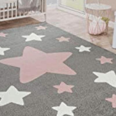tapis enfant étoiles marque Paco Home