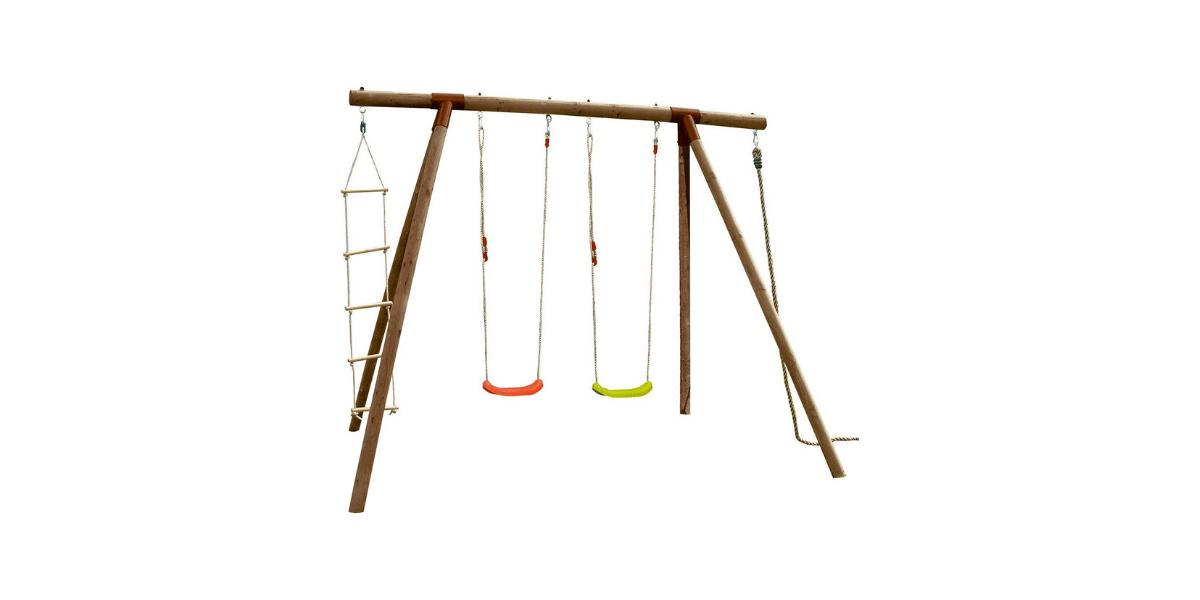 portique balançoire en bois Piment marque Soulet