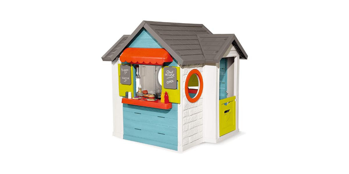 cabane en plastique pour enfant Chef House marque Smoby