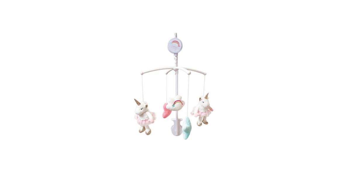 mobile bébé musical licorne marque Doudou et Compagnie