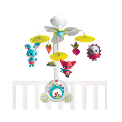 mobile bébé musical Soothe'n'Grouve marque Tiny Love