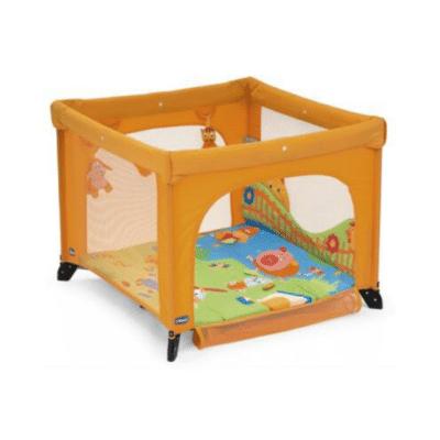 parc bébé Chicco open orange