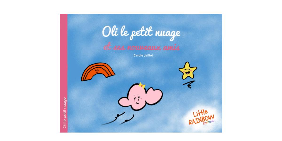 couverture livre homoparentalité Oli le petit nuage et ses nouveaux amis