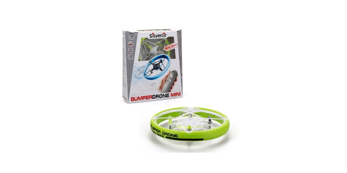 mini drone vert avec emballage marque silverlit