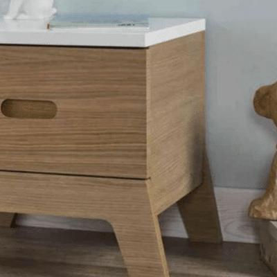 table nuit en bois marque Junior Provence