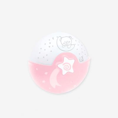 veilleuse rose et bleu musicale Infantino Projecto marque vertbaudet