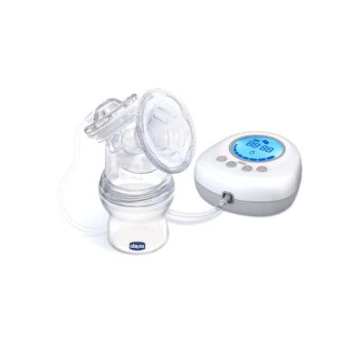 tire-lait électrique blanc et bleu marque chicco modèle Naturallyme