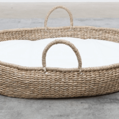 coufin osier linge blanc marque handcrafted