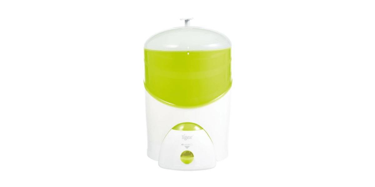 stérilisateur blanc et vert marque Tigex
