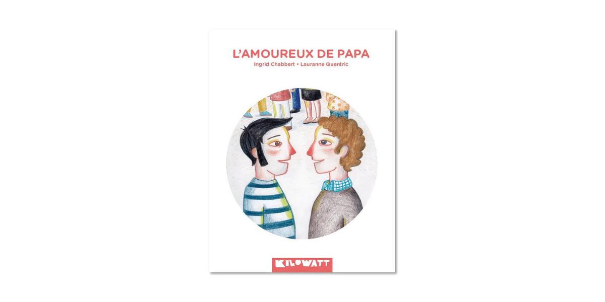 Couverture livre amoureux de papa