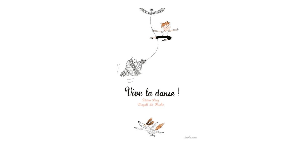 couverture livre enfant vive la danse