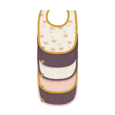 bavoirsbeige, marron et rose marque lässig