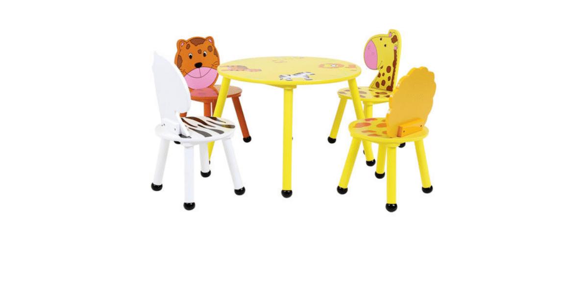table et chaise enfant marque Bentley