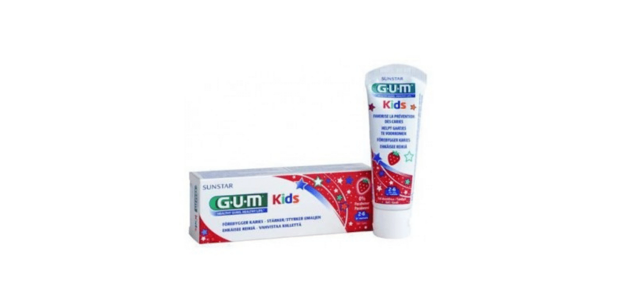 dentifrice enfant marque sunstar