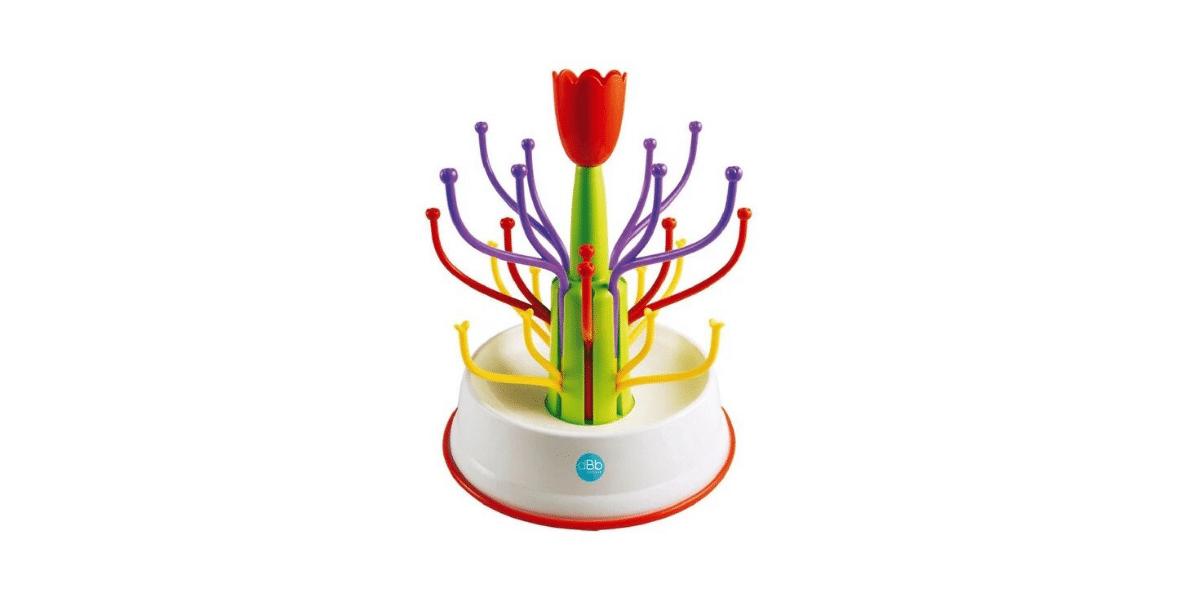 egouttoir biebron forme tulipe coloré marque dBd Remond