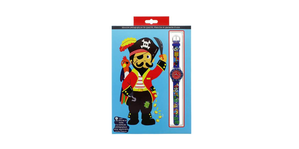 montre babywatch design pirate