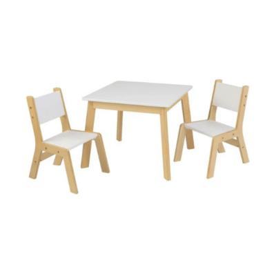 table et chaise enfant bois et blanc marque KidKraft