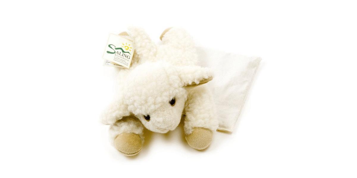 peluche en forme de mouton marque Saling