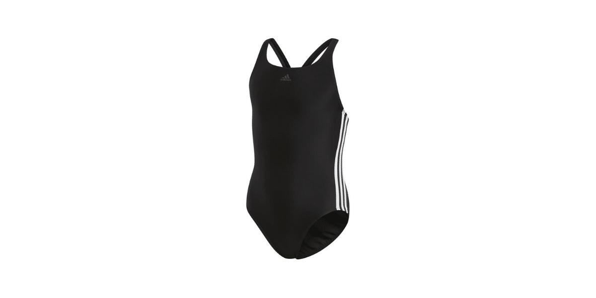 Maillot de bain une pièce noir marque adidas performance