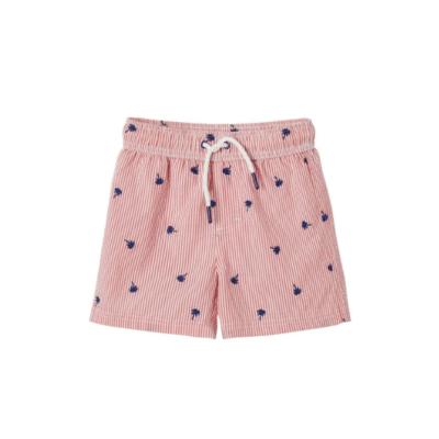 maillot de bain garçon rose marque vertbaudet