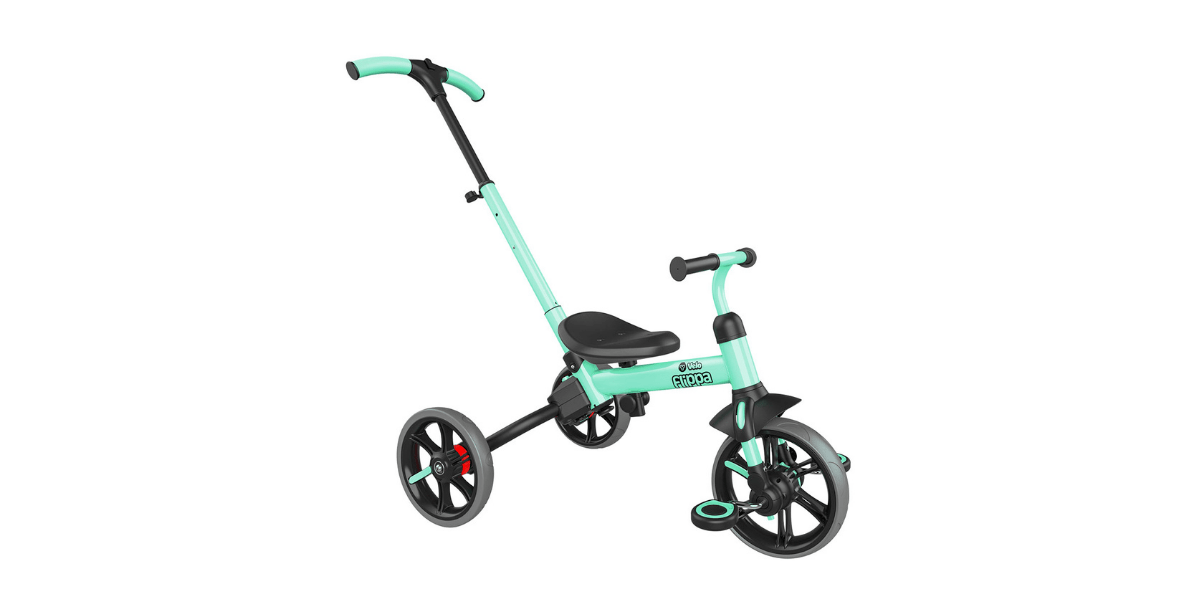 tricycle vert clair marque Oxybul