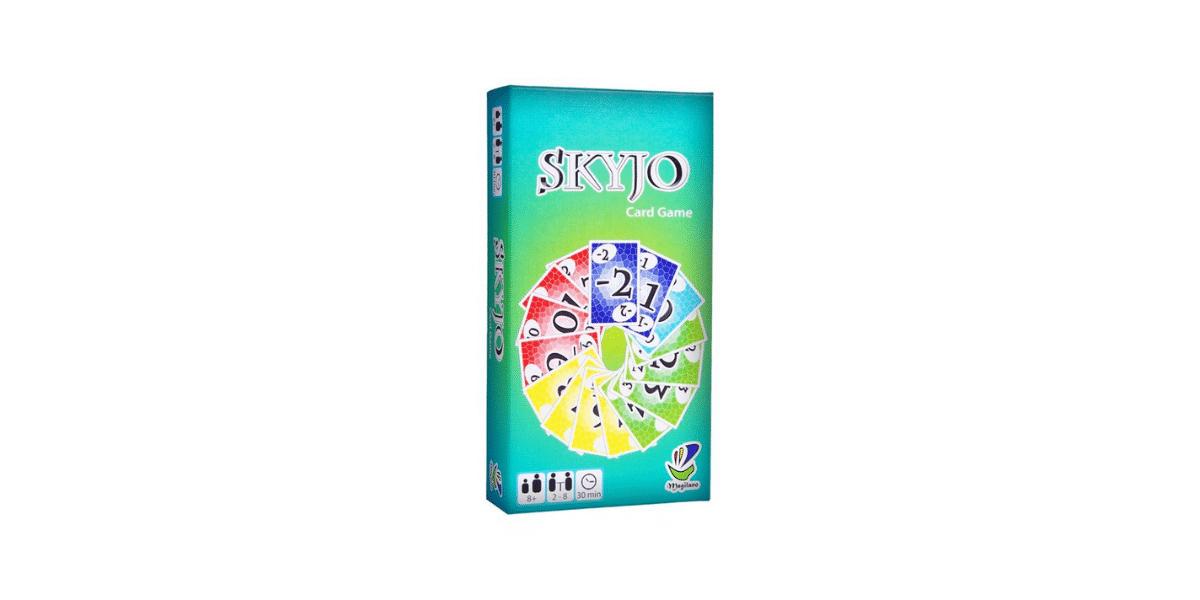 boite du jeu Skyjo pour travailler les mathématiques avec son enfant